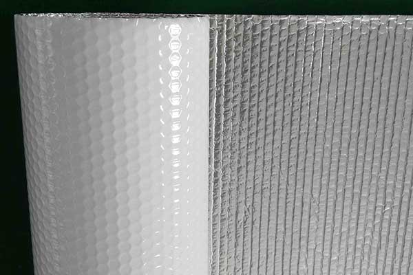 1.5m Alu Foil White Bubble For Metal Roof Building